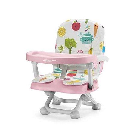 Cadeira Para Bebê Refeição Alimentação Portátil Frutinhas Multikids