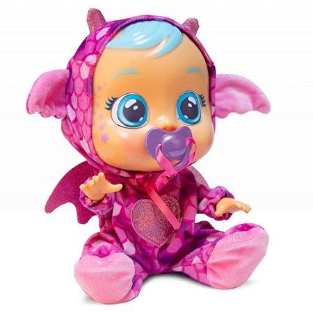 Boneca Cry Babies Fantasy Bruny Chora De Verdade Multikids