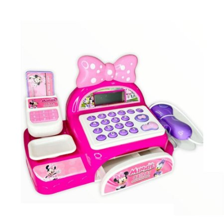 Caixa Registradora Infantil Minnie Multikids