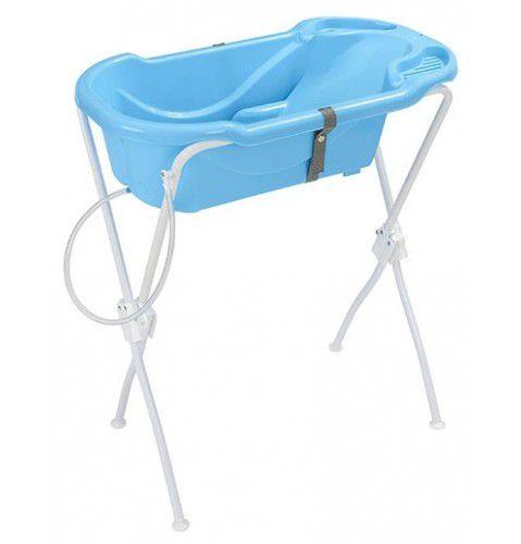 Banheira Ergonômica Com Suporte Tutti Baby Azul