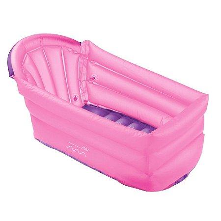Banheira Inflável Bath Buddy Menina Multikids