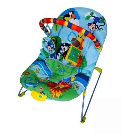 Cadeira de Descanso Musical para Bebê Soft Ballagio Azul