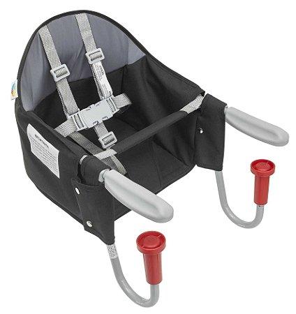 Cadeira de Refeição Bebê Portátil para Mesa FIT Preta Tutti Baby