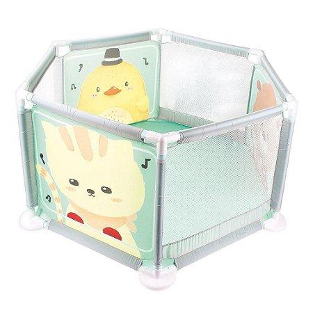 Cercado Chiqueirinho Desmontável Portátil Para Bebê Baby Dm Toys