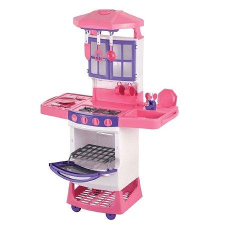 Cozinha Infantil Mágica Menina Fogão Magic Toys