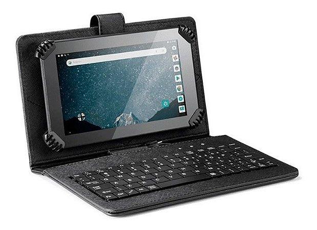 Tablet Multilaser + Case E Teclado M7s Go 1gb 16gb NB310