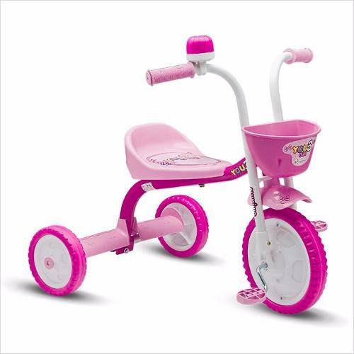 Triciclo Infantil You 3 Girl Menina Nathor