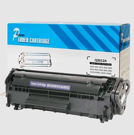 Toner Compatível HP 12A Q2612A 1010 1018 1020 1022 M1005 - PREMIUM