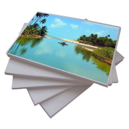 Papel Glossy Fotográfico A4 90g - 100 Folhas