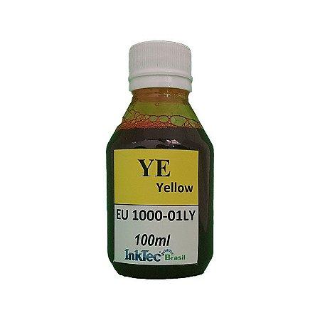 Tinta Inktec Epson EU1000-01LY Amarela Corante 100ml