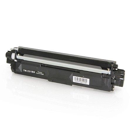 Toner Brother TN221 TN-221BK Preto Compatível HL3140 HL3170 DCP9020 MFC9130 MFC9330