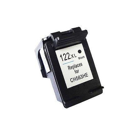Cartucho Hp 122 122XL Preto Compativel 20ml | CH563 Hp 1000 2000 3050