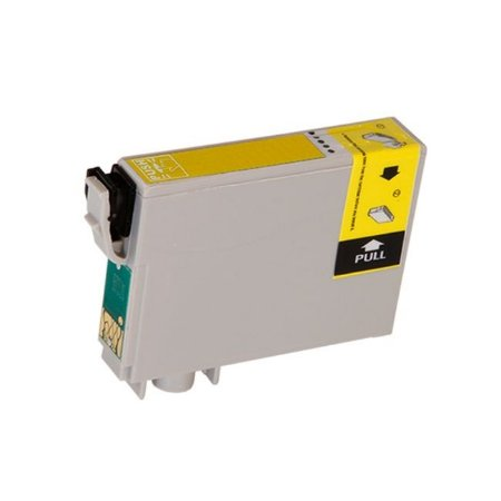 Cartucho Epson 73N TO73420 Amarelo Compativel 15ml T0734 TX200 TX210 CX4900 CX7300