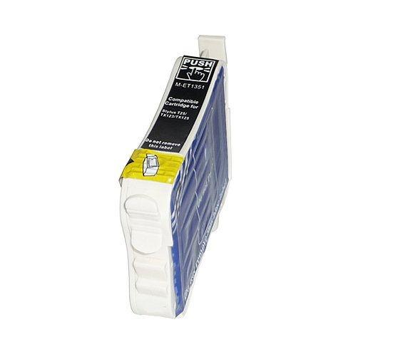 Cartucho Epson 133 T133120 Preto Compativel 15ml TX235 TX320F TX420 TX430