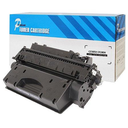 Toner Compatível HP 05X 80X CE505X CF280X P2035 P2055 M401n M425dn - PREMIUM