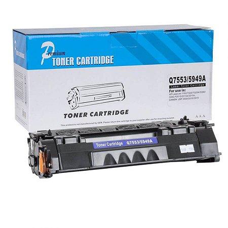 Toner Compatível HP 53A Q7553A P2014 P2015 M2727 - PREMIUM