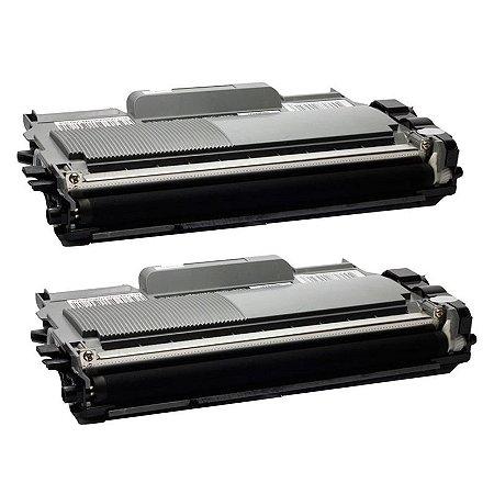 Kit com 2 Toner Brother TN-410 Compativel TN410 HL2130 HL2240 DCP7065 MFC7065