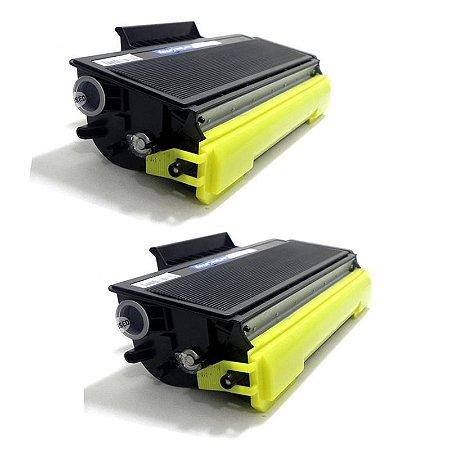 Kit com 2 Toner Brother TN-580 Compativel TN580 DCP8065 MFC6460 HL5240