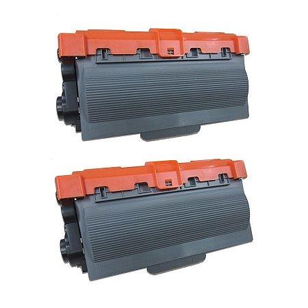 Kit com 2 Toner Brother TN-780 Compativel TN780 DCP8110 MFC8510 3340