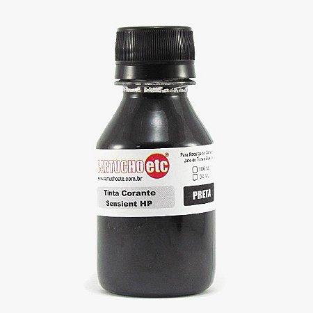 Tinta Formulabs HP Canon Lexmark IJD6600 Preta Corante para Hp 100ml