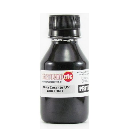 Tinta Formulabs Brother Corante Premium IJD1800 Preta 100ml