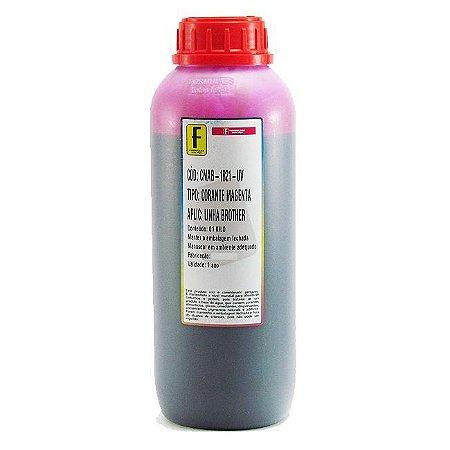 Tinta Formulabs Brother Corante Premium IJD1821 Magenta 1 Litro