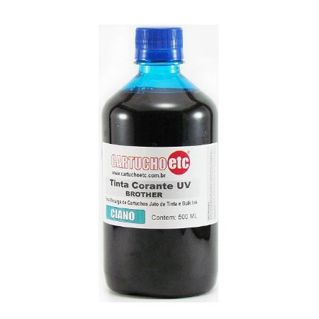 Tinta Formulabs Brother Corante Premium IJD1861 Ciano 500ml