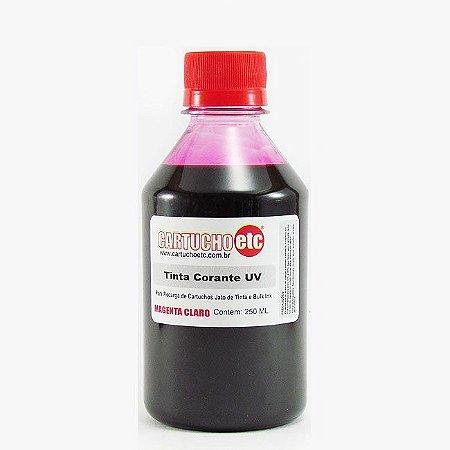 Tinta Formulabs Epson EPS4821 Magenta Claro Corante UV 250ml