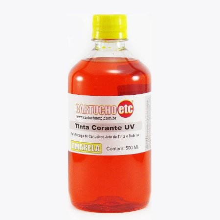 Tinta Formulabs Epson EPS4841 Amarela Corante UV 500ml