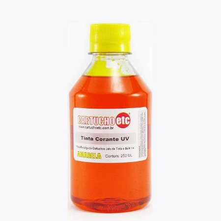Tinta Formulabs Epson EPS4841 Amarela Corante UV 250ml