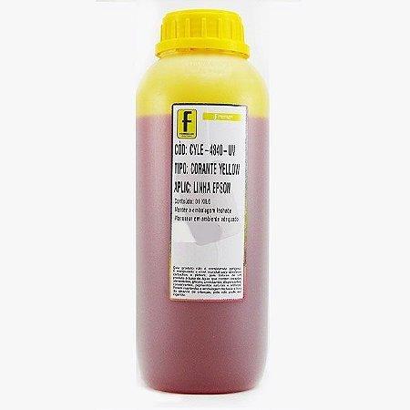 Tinta para Epson L110 L200 L355 L800 Amarela Corante UV Importada 1 Litro