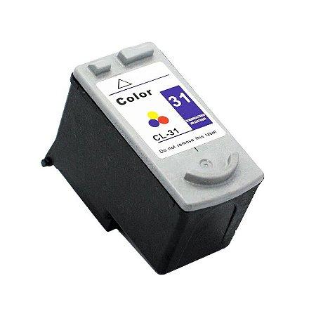 Cartucho Canon CL31 Colorido Compativel 20ml IP1800 IP1900 CL 31