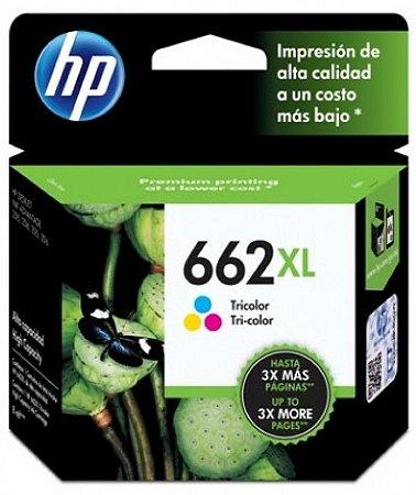 Cartucho Hp 662 XL Colorido CZ106AB Original 2515 3515 662XL