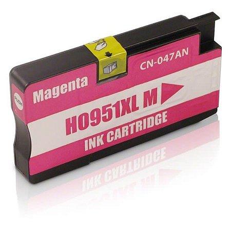 Cartucho Hp 951 XL Magenta 8100 8600 951XL CN047A Compativel