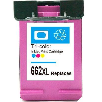 Cartucho Compatível HP 662XL Colorido Microjet 10ml