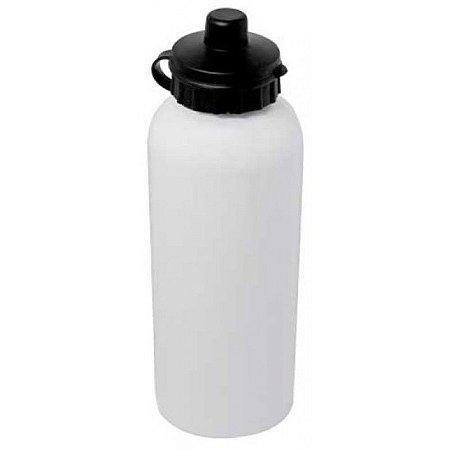 Garrafa Tipo Squeeze de Aluminio 500ml Branca