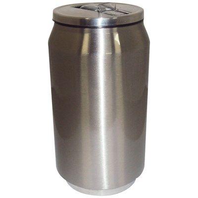 Latinha Sublimatica em Aluminio Térmica Parede Dupla com Tampa e Bico Retratil 280ml