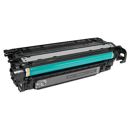 Toner Compatível HP 504A CE250A Preto CM3530 CP3525DN
