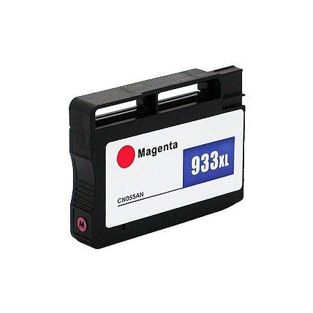 Cartucho Hp 933 XL Magenta CN055A Compativel 7110 7610 933XL