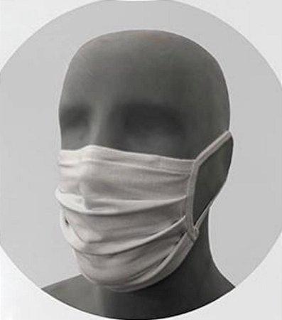 Kit com 3 Máscaras Laváveis Reutilizáveis 100% Algodão