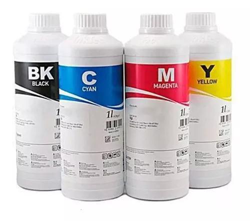 Kit 4 Litros de Tinta Pigmentada Epson E0007