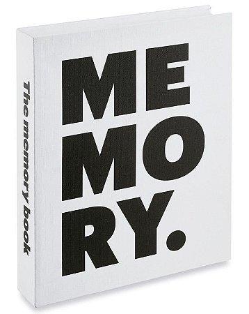 CAIXA LIVRO MEMORY