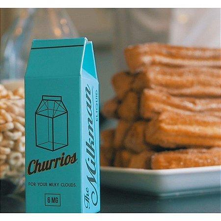 Líquido Cigarro Eletrônico The Milkman - Churrios