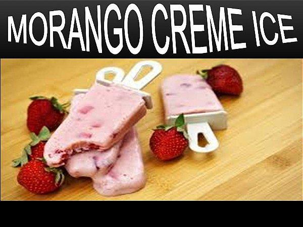 Líquido Morango Creme Ice e-Health