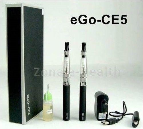 Kit Duplo eGo CE5 900 mAh - troca resistência