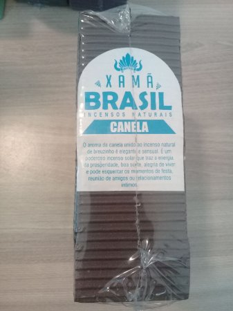 Incenso Xamã Brasil Canela