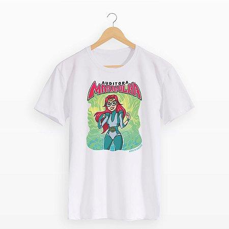 Camiseta Auditora-Maravilha