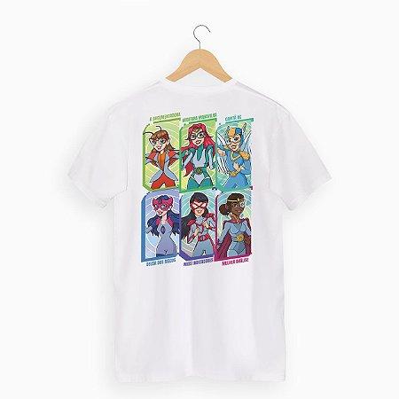 Camiseta Heroínas da Qualidade