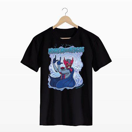 Camiseta Homem dos Riscos