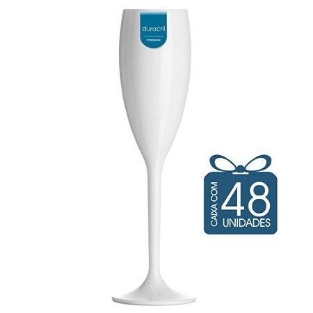 48 Taças Champagne 160 ml Branca